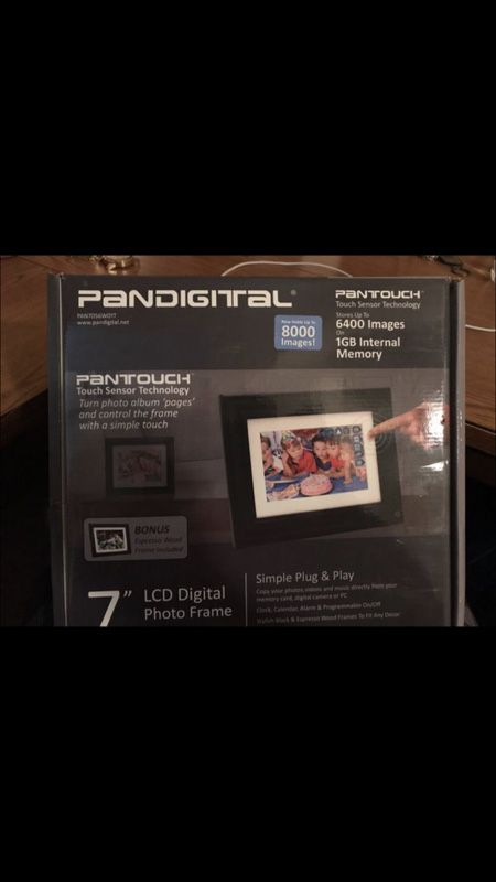Pandigital Photo Frame 7 Lcd Touchscreen Photography In Yukon Ok