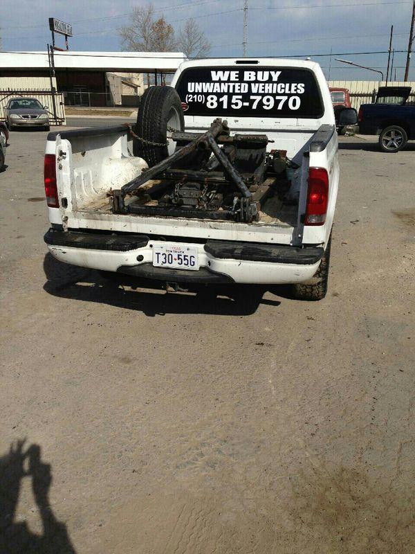 We buy unwanted vehicles (Campers & RVs) in San Antonio, TX