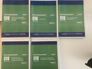 CFA books