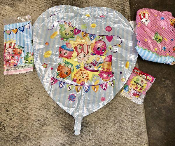 shopkins birthday decorations Baby Kids in San Jose CA