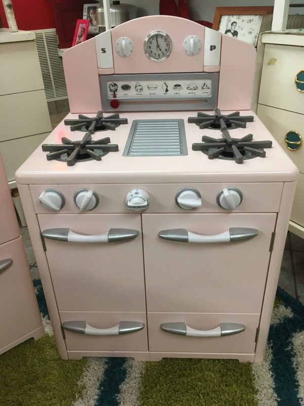 Pottery Barn Kids Vintage Kitchen Play Set In Pink