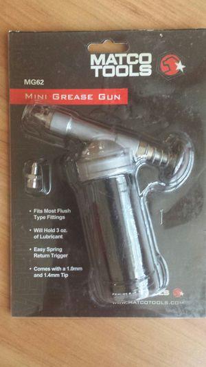 Matco Mini Grease Gun