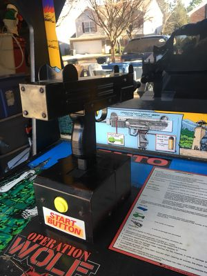 Operation wolf arcade game perfect for fun