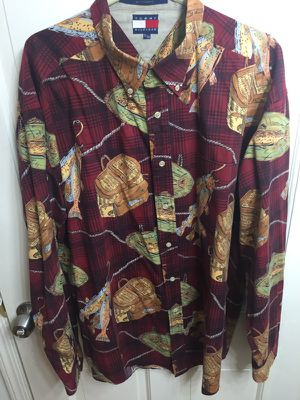 Tommy Hilfiger Flannel Print Shirt