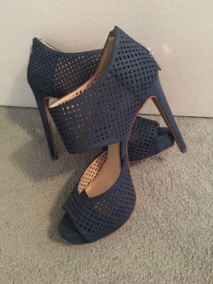 Jessica Simpson heels and Metallic heels