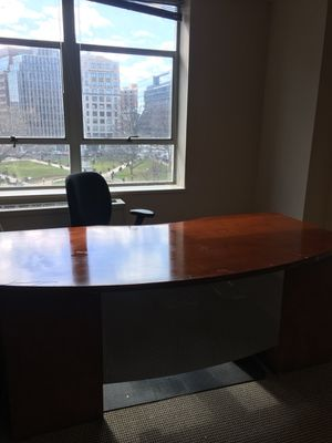 Nice real wood office desk