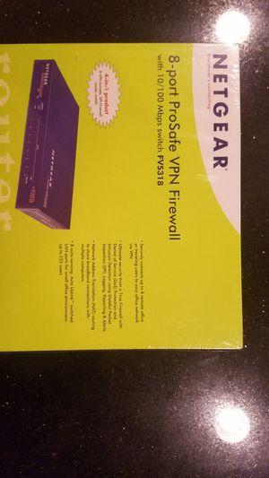 Netgear VPN firewall router FVS318