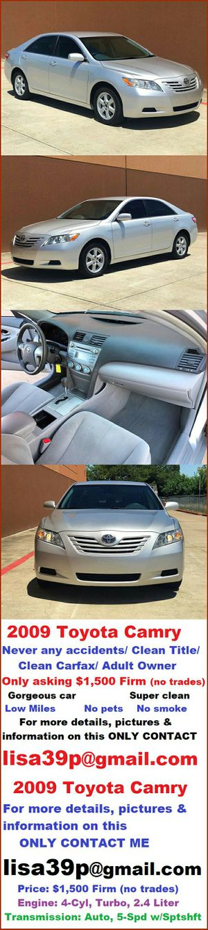 Works perfectly 2009 Toyota Camry Runs Very Good