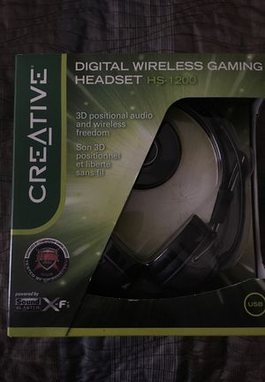 Digital wireless Gaming Headset