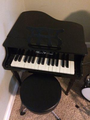 Children's Mendini drum set and children's piano