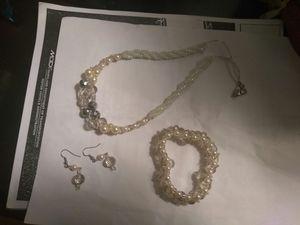 Pearl set.