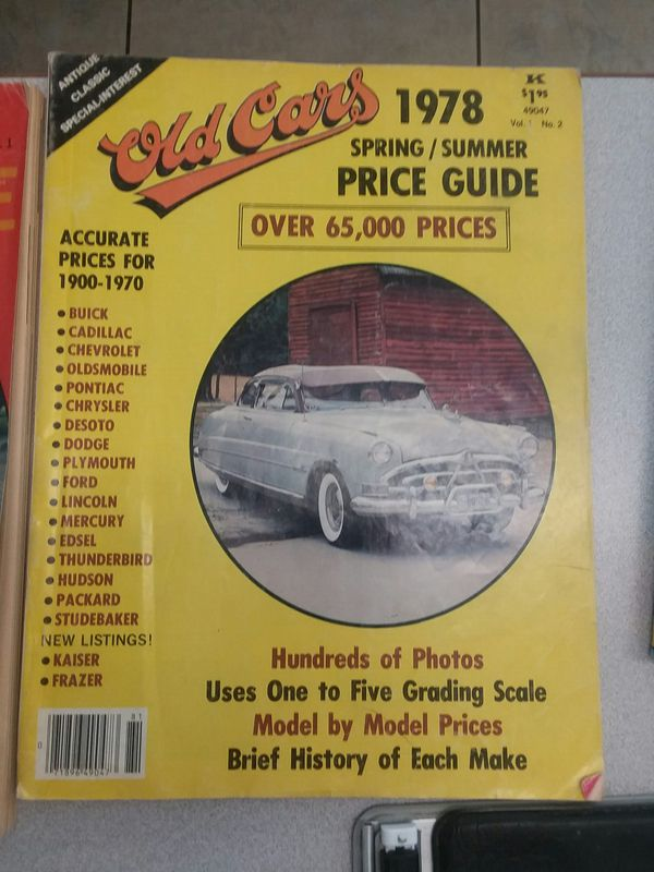 Old cars price guide (Books & Magazines) in Phoenix, AZ
