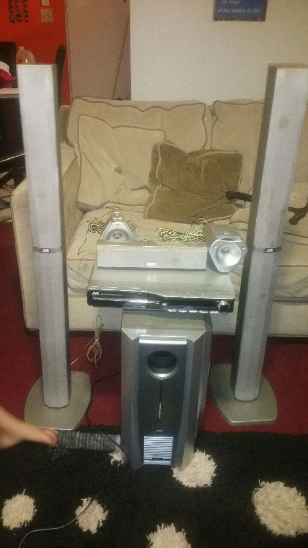Home theater jvc....