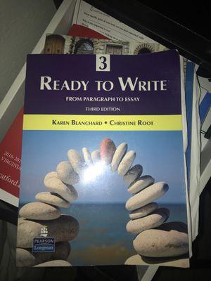 Ready to write third edition esl book
