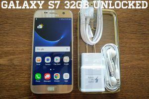 Galaxy S7 32GB UNLOCKED w/ Samsung Accessories