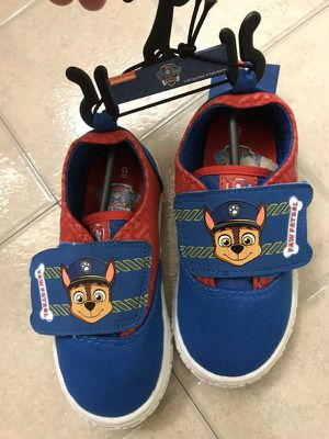 Paw patrol toddler boys' casual shoes size 9