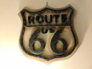Stylishled Route 66 wooden sign