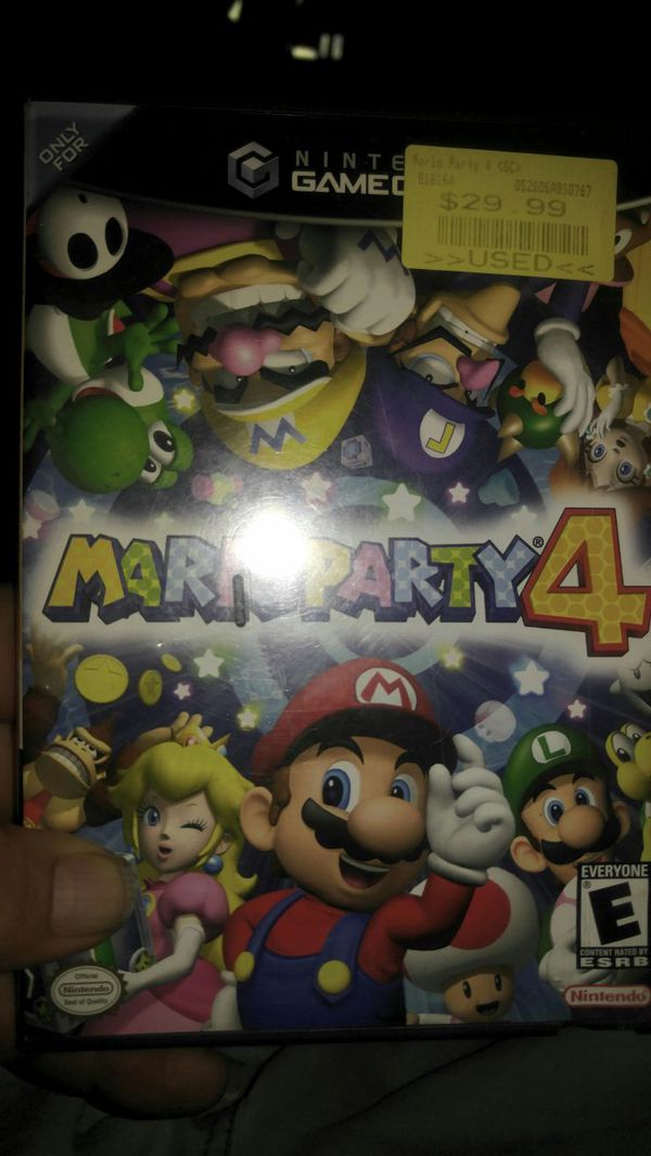 Mario party 4 For GameCube