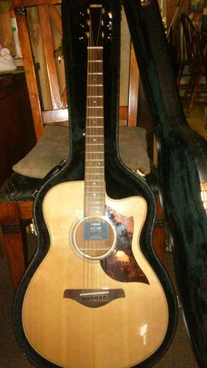 Yamaha a series acoustic electric guitar