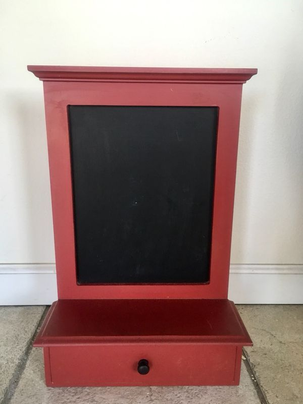 Framed Magnetic Chalkboard with Drawer (Household) in Anaheim, CA ...