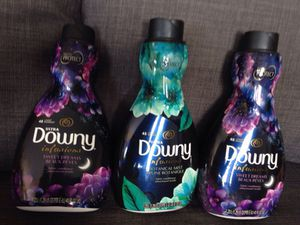 3 Bottles Downy Fabric Protect each 48 Loads. Please See All The Pictures and Read the description