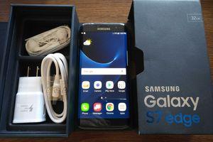 Galaxy S7 Edge {32GB} UNLOCKED {like NEW} Black Onyx