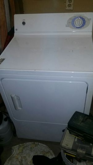 GE washer and dryer set
