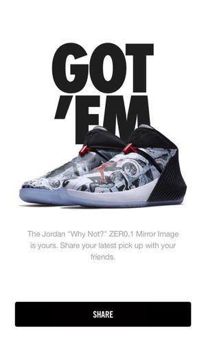 Jordan Why Not Zero.1 Mirror Image