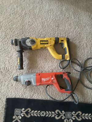 rotary drill Milwaukee y dewalt precio firme por los 2