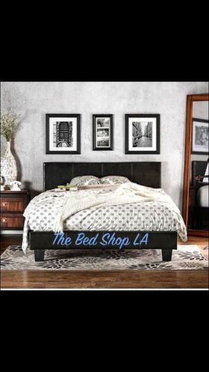 new platform bed frame with mattress combo twin full queen - Bed Frame And Mattress Combo