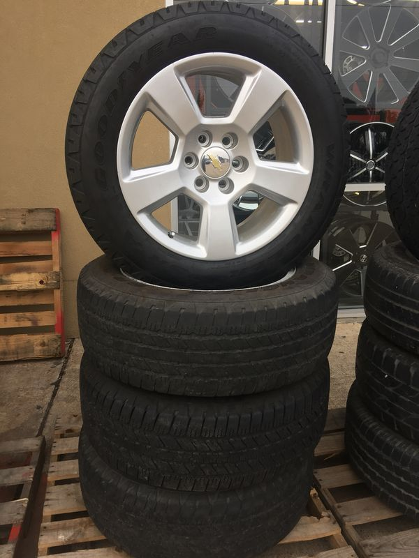 """20"""" stock wheels Gmail Chevy with Tires used (Auto Parts) in Houston ..."""