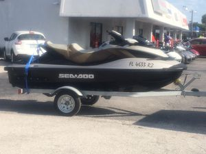 09 sea doo 255 limited edition supercharged