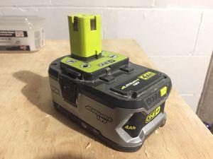 Ryobi 4Ah high capacity 18v tool battery