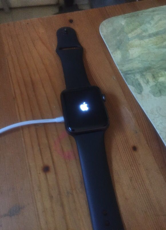 Apple Watch Series 1 ( No Charger) Works and Useable