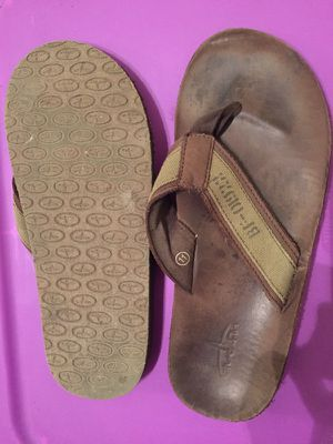 Man leather Sandals size 11