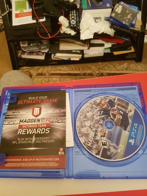 Madden 17 for ps4