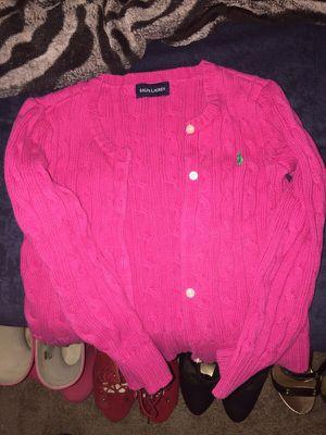 Size 4t Ralph Lauren sweater for girls