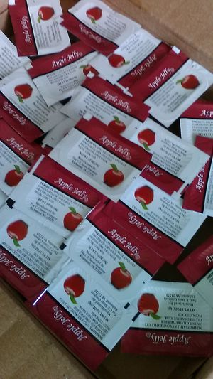 Apple Jelly $4.00 a case