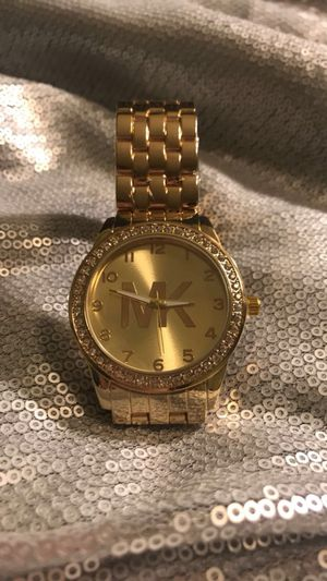 Gold Michael Kors Analog Watch
