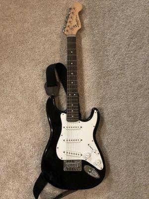 Fender squire mini with case