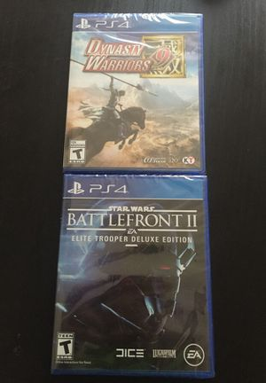 New Sealed PS4 Video Games