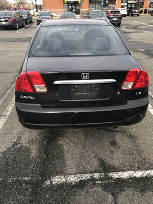 Hi I have a Honda Civic 2002 model black color 153k milles on it car run like new nothing wrong with it va inspection pas for 2 Year's brand new tir