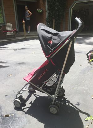 Triumph Maclaren stroller
