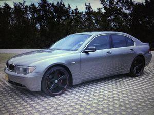 warranty backed2002 BMW 745 I