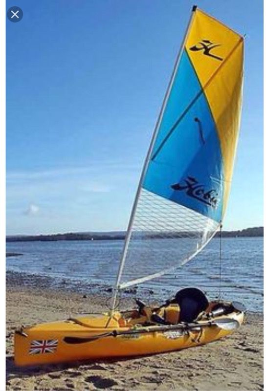 Hobie Kayak Sail Kit For And Mirage Single Tandem Boats Marine In Cutler Bay FL
