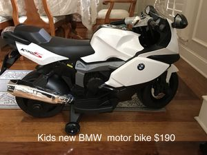 Kids new BMW electric motor bike. 5mph . New and stylish for kids.