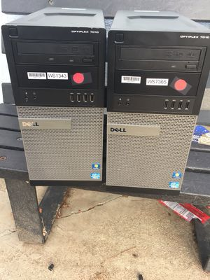 Dell i5 towers