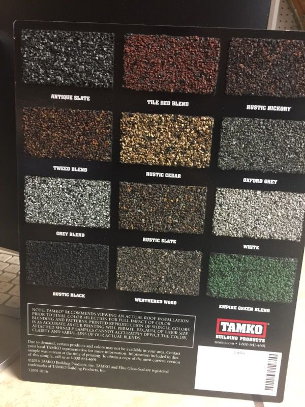 Tamko Heritage 3 Tab 25 Years Shingles General In Fort