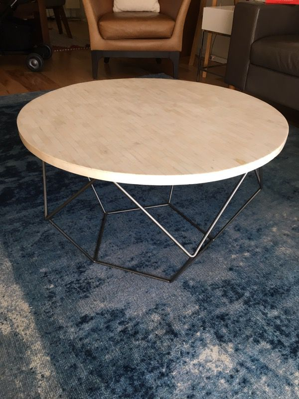 west elm origami coffee table medium ( furniture ) in fremont, ca