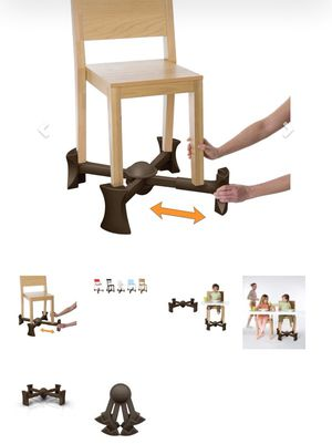 Kaboost toddler chair booster